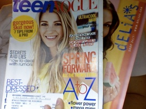 Teen Vogue April 2008