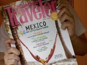 CondeNast Traveler April 2008