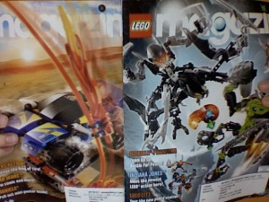Lego Club Magazine Jan-Feb, Mar-Apr 2008