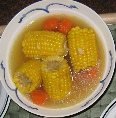 corn soup traditional asian
